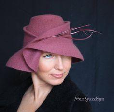 ea4c1593 Millinery Hats, Fascinator Hats, Fascinators, Flapper Hat, Stylish Hats,  Church Hats