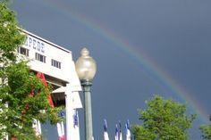 Rainbow at Greeley Stampede