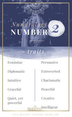 Those with the numerology number 2 are intuitive and graceful. Read the complete number 2 guide here. Life Path 2, Life Path Number, Numerology Numbers, Numerology Chart, Astrology Numerology, What Is Birthday, Expression Number, Numerology Calculation, Look Here