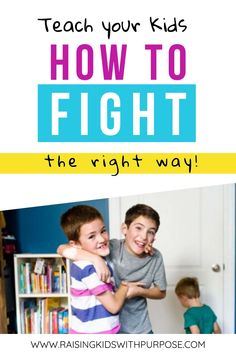 Siblings who fight constantly can be exhausting! Use these great tips on keeping kids from fighting by teaching them how to solve conflicts on their own. Elementary Counseling, Career Counseling, Elementary Schools, Physical Education Games, Character Education, Conflict Resolution Activities, Behavior Management Strategies, Sibling Fighting, Sibling Relationships