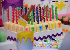 festa pintando o sete em eva - Pesquisa Google