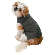 Boots & Barkley™ Gray Pet Sweater Pupper Doggo, Cable Knit, Winter Hats, Pets, Knitting, Grey, Sweaters, Animals, Style
