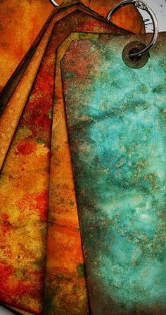Turquoise Teal Blue and Rust Orange Copper Colour Palette, Colour Pallette, Copper Color, Colour Schemes, Color Combos, Orange And Turquoise, Rust Orange, Green And Orange, Orange Color
