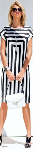 59 Affordable Casual Style Ideas To Inspire – Fashion New Trends Cute Dresses, Beautiful Dresses, Short Dresses, Dresses For Work, Summer Dresses, Stripes Fashion, White Fashion, Maxi Robes, Mode Inspiration