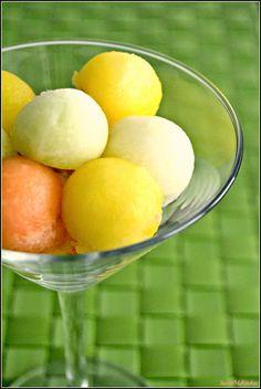 Salada de fruta tricolor