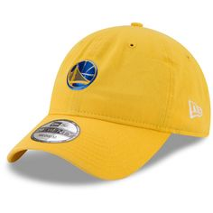 Men s Golden State Warriors New Era Gold On-Court 29TWENTY Fitted Hat 046c875a5b7
