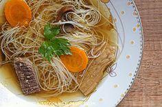 Clauditte Miss Cooking: Rosół wołowy z borowikami