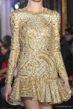 Zuhair Murad Haute Couture Весна-Лето 2013 (Backstage и детали) - Babyblog.ru
