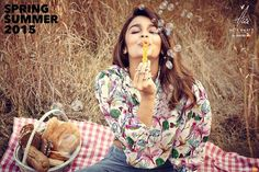 Alia Bhatt's photoshoot for Spring Summer Collection