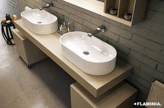 Lavabi/Basins PASS - Flaminia Design Team, 2011  #Ceramic #Design #Bathroom