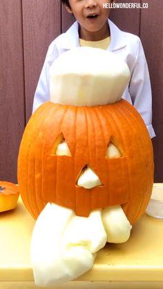 Halloween Science, Halloween Arts And Crafts, Halloween Crafts For Toddlers, Easy Halloween Decorations, Halloween Party Games, Halloween Projects, Halloween Pumpkins, Women Halloween, Halloween Halloween