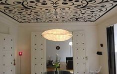 painting ideas for modern ceilings