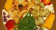 Un Mondo di Fantasie all'Uncinetto di Lisa : Strisce di pollo al forno con patate