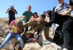 The Palestinian family who fought off an Israeli soldier from arresting their boy | Middle East Eye