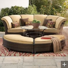 Malibu Outdoor furniture, Grandin Road. - Continued!