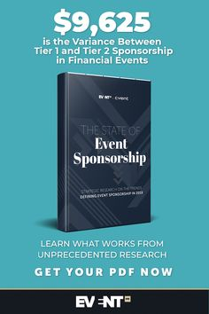 $9,625 is the variance between tier 1 and tier 2 sponsorship in Financial events. Learn what works from unprecedented research. Get your free PDF. What Works, Event Marketing, Event Management, Company Names, First Names, Research, Pdf, Events, Learning