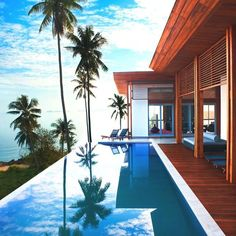 Beach house & pool exterior beach beautiful decor pool photo style stylish beach house ideas architecture design room ideas home ideas exterior exterior design ideas home design exterior design exterior ideas exterior room Beautiful Homes, Beautiful Places, Beautiful Beach, Hello Beautiful, House Beautiful, Dream Pools, Cool Pools, Pool Designs, Phuket