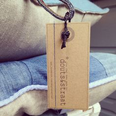 My new label.... @(for the) home made products by douts&straat