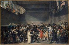 Le serment du Jeu de Paume. Jacques-Louis David. Musée Carnavalet