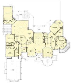 Diy Interior Furniture, Porch Ideas, Custom Homes, Luxury Homes, Floor Plans, Fancy, House Design, Flooring, How To Plan