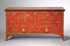 Painted furniture: Pennsylvania Dower Chest