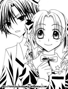 Mikan and Natsume