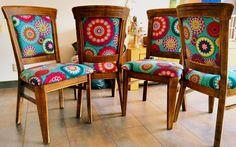 Pimpen van oude stoelen