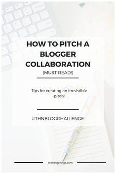 How to Pitch a Blogg