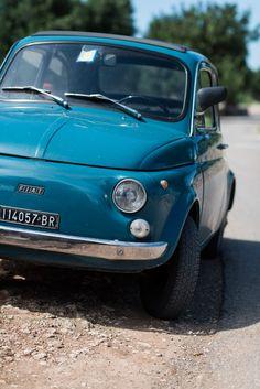 Fiat 500 near Masseria Torre Maizza, Puglia, Italy #apulia Shot by www.Maartenvis.com