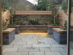 Gabion garden seating http://www.gabion1.co.uk