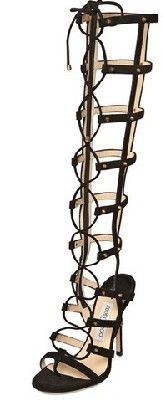 Jimmy Choo Mogul Suede Gladiator Sandal.. yes, i'd rock these :)