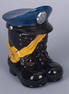 Policeman Cookie Jar #LawEnforcement #Gifts