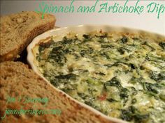 Hot Spinach and Artichoke Dip- Easy and Delicious