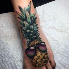 Pineapple Tattoos – Tattoo Insider