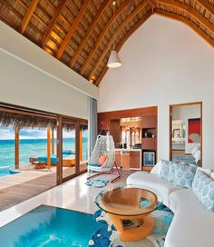 Maldives Resort, Maldives Travel, Maldives Hotels, Greece Hotels, Beautiful Places To Travel, Cool Places To Visit, Vacation Places, Dream Vacations, Beste Hotels
