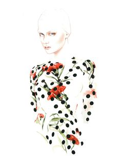 Fashion illustration / Antonio Soares | imaginary roomies