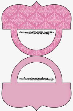 Damascos Rosa: Etiquetas para Candy Bar para Imprimir Gratis.