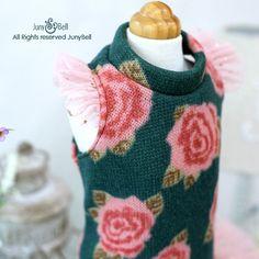 Vestido de diseñador de Rubian-hecho a mano para mascotas /