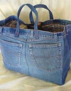Best 10 Jean Crafts Denim Crafts Jeans Denim Denim Bag Sewing Aprons Sewing sewing at home Denim Handbags, Denim Tote Bags, Denim Purse, Sewing Aprons, Sewing Clothes, Diy Clothes, Jean Crafts, Denim Crafts, Denim Bag Patterns
