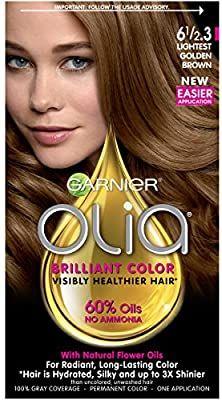 Amazon Com Garnier Olia Ammonia Free Permanent Hair Color 100