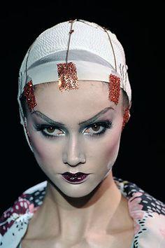 Makeup artist Pat McGarth #spadelic #makeup #patmcgrath
