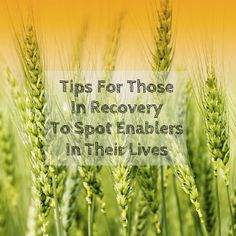Tips For Recovering Addicts On How To Spot The Enablers In Their Lives