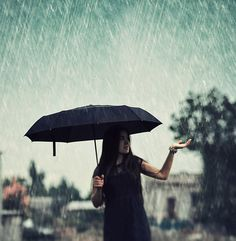 Had a moment like this on Tuesday..renewed my love for umbrellas :)