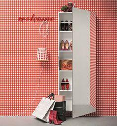 Mobile Scarpiera Welcome da Birex   #design #organizzazione #domestica #casa  