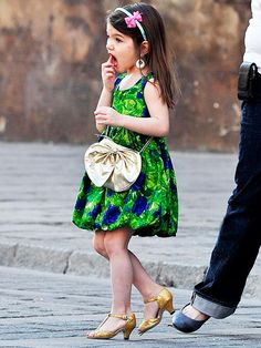 Seee Luci isn't the only 5 year old with heels <3 and lipstick! (all over the face)