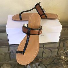 Tommy Hillfinger Sandals Never been worn Tommy Hilfinger sandals. Think vacation, vacation! Tommy Hilfiger Shoes Sandals