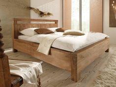 Dřevěné postele z palisandru Sheesham