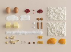 Carl Kleiner, a still life photographer in Stockholm, Sweden, shot a series of geometric images for Ikea's new baking book, Hembakat är Bäst (Homemade Is Best).  A very cool concept.