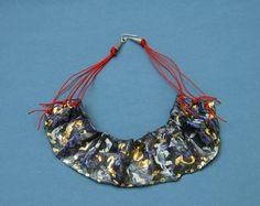 Washer Necklace, Crochet Necklace, Porcelain, Bags, Jewelry, Fashion, Handbags, Moda, Porcelain Ceramics