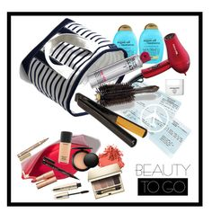 """""""Beauty on the Go"""" by pickletoes ❤ liked on Polyvore featuring beauty, Bobbi Brown Cosmetics, Organix, BaByliss Pro, Lands' End, Madewell, TIGI, Oribe, Sachajuan and Smith & Cult"""